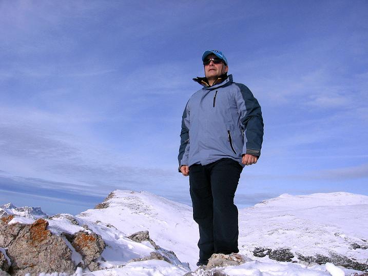 Foto: Andreas Koller / Wander Tour / Aus der Zidritz auf die Kahlwandspitze (2090 m) / 06.12.2009 22:53:51