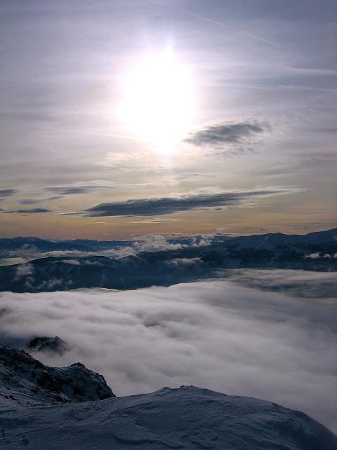 Foto: Andreas Koller / Wander Tour / Aus der Zidritz auf die Kahlwandspitze (2090 m) / 06.12.2009 22:53:43