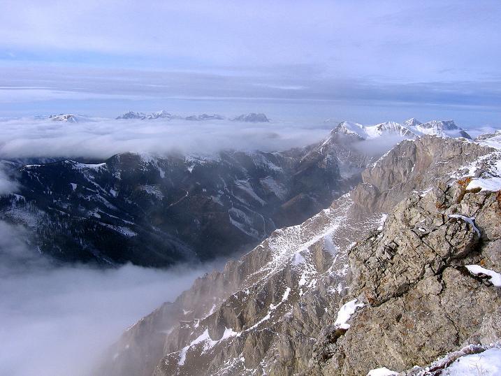 Foto: Andreas Koller / Wander Tour / Aus der Zidritz auf die Kahlwandspitze (2090 m) / 06.12.2009 22:53:34