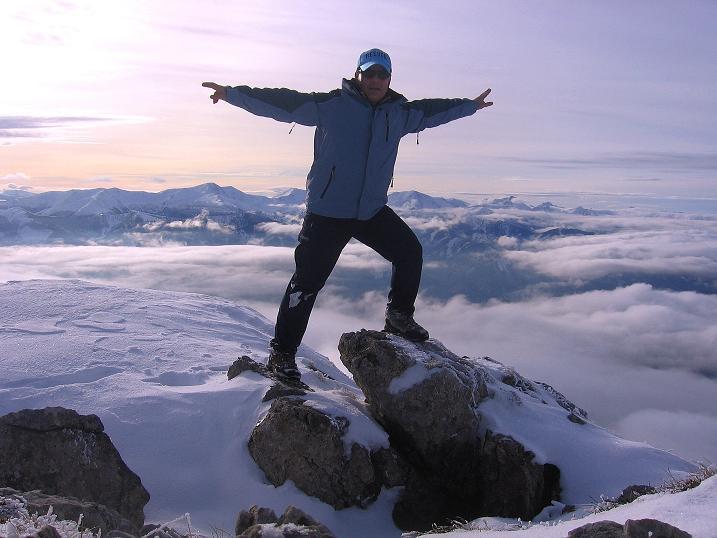 Foto: Andreas Koller / Wander Tour / Aus der Zidritz auf die Kahlwandspitze (2090 m) / 06.12.2009 22:53:12