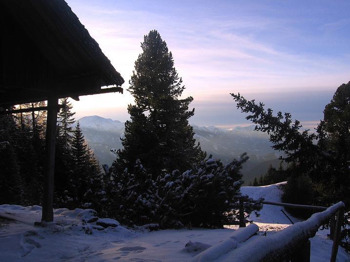 Foto: Andreas Koller / Wander Tour / Aus der Zidritz auf die Kahlwandspitze (2090 m) / 06.12.2009 22:52:08