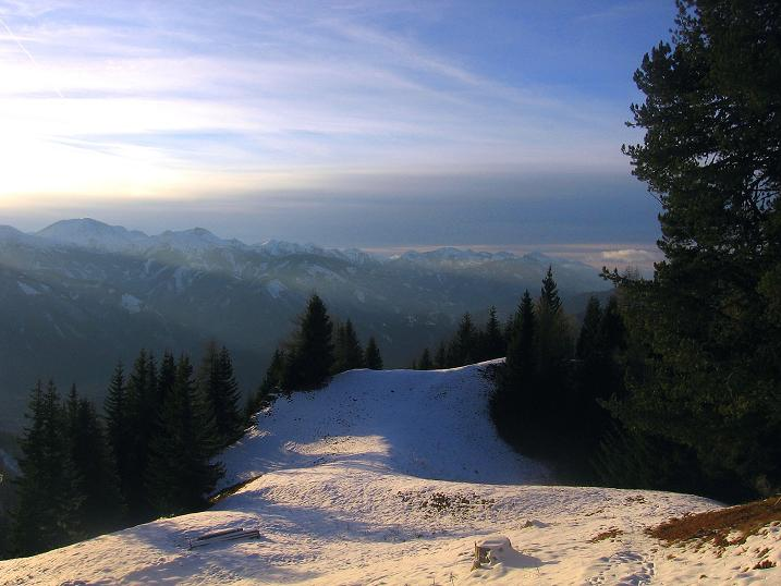 Foto: Andreas Koller / Wander Tour / Aus der Zidritz auf die Kahlwandspitze (2090 m) / 06.12.2009 22:51:47