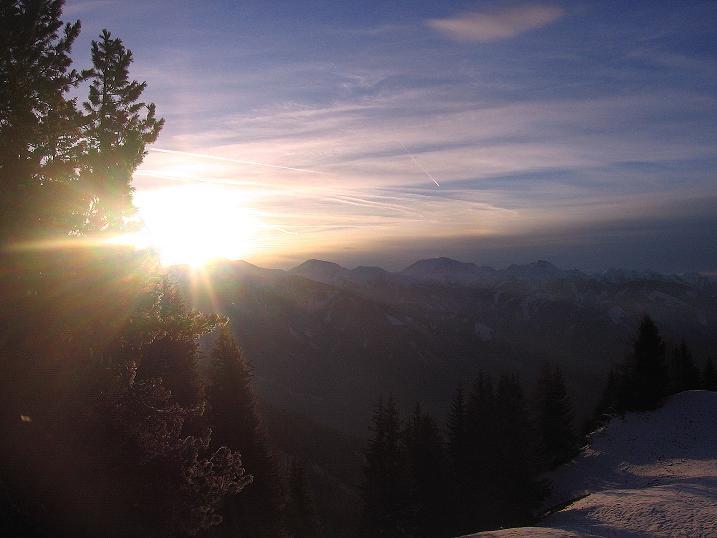 Foto: Andreas Koller / Wander Tour / Aus der Zidritz auf die Kahlwandspitze (2090 m) / 06.12.2009 23:05:15