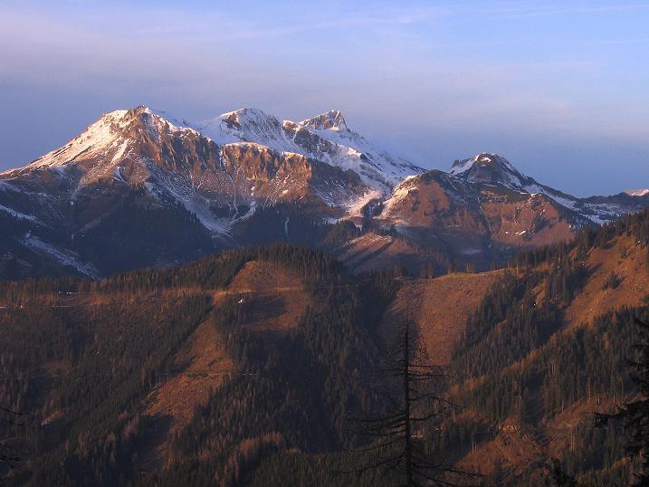 Foto: Andreas Koller / Wander Tour / Aus der Zidritz auf die Kahlwandspitze (2090 m) / 06.12.2009 22:51:37