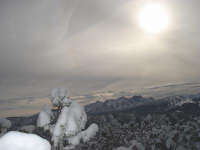 Foto: JochenRuhpolding / Wander Tour / Auf dem Jägersteig zum Hörndlwandgipfel / 06.12.2009 19:08:47