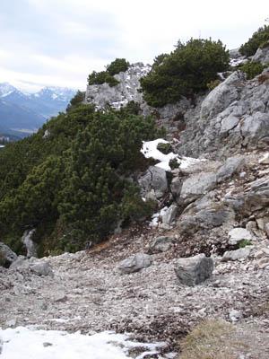 Foto: JochenRuhpolding / Wander Tour / Auf dem Jägersteig zum Hörndlwandgipfel / 06.12.2009 19:09:32