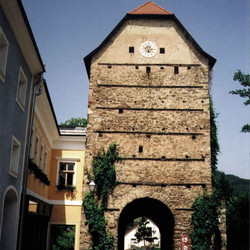 Foto: Ferienregion Böhmerwald / Wander Tour / Haslacher Rundumweg / Alter Wehrturm / 09.12.2009 11:14:33