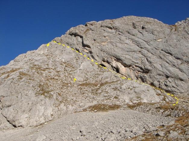 Foto: Manfred Karl / Klettersteig Tour / Klettersteig Sinabell / Sinabell Klettersteig mit Zu- und Abstiegsvarianten / 08.12.2009 19:16:24