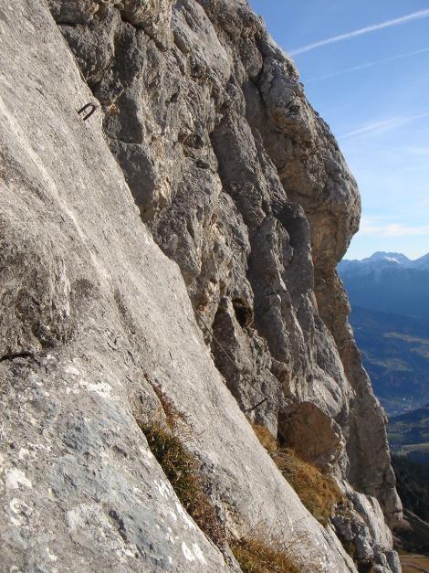 Foto: Manfred Karl / Klettersteig Tour / Klettersteig Sinabell / In der Abstiegsvariante / 08.12.2009 19:14:32