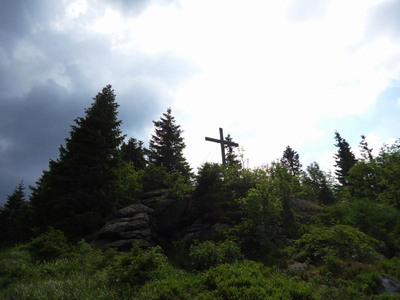 Foto: Günter Siegl / Wander Tour / Gipfel-Ge(h)nussweg / Gipfel Hochficht / 04.07.2017 21:42:59