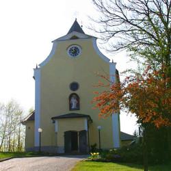 Foto: Ferienregion Böhmerwald / Wander Tour / Psalmenweg Rohrbach / Maria Trost Kirche / 11.12.2009 08:03:09