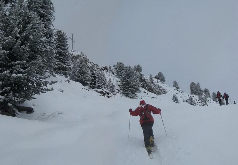 Foto: Wolfgang Lauschensky / Ski Tour / Faltegartenköpfl 2184m / Gipfel wird südlich umgangen / 10.12.2009 22:09:41