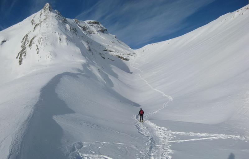 Foto: Wolfgang Lauschensky / Ski Tour / Monte Sella di Fanes - Fanessattelspitze oder St.Antonispitze 2655m / Ju de St.Antone - Fanessattel / 11.12.2009 09:41:29