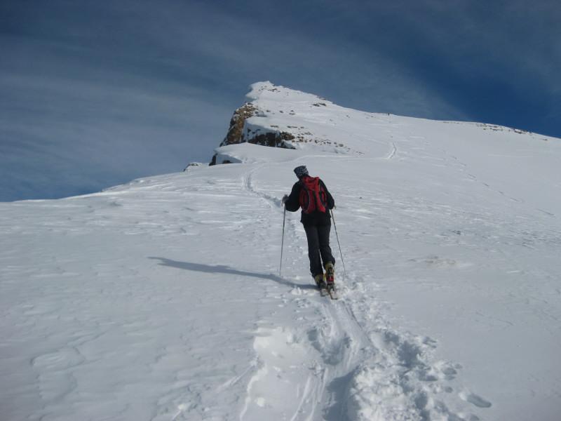 Foto: Wolfgang Lauschensky / Ski Tour / Monte Sella di Fanes - Fanessattelspitze oder St.Antonispitze 2655m / Südwestgrat / 11.12.2009 09:40:59