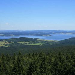 Foto: Ferienregion Böhmerwald / Wander Tour / Moldaublickweg / 11.12.2009 11:01:10