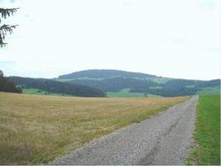Foto: Ferienregion Böhmerwald / Rad Tour / Ameisberg-Runde / Blick auf den Ameisberg / 11.12.2009 11:48:55