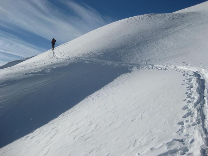 Foto: Wolfgang Lauschensky / Ski Tour / Sass dles Nö oder Neuner 2968m (Vorgipfel 2874m) / Traumlandschaft / 11.12.2009 20:20:47