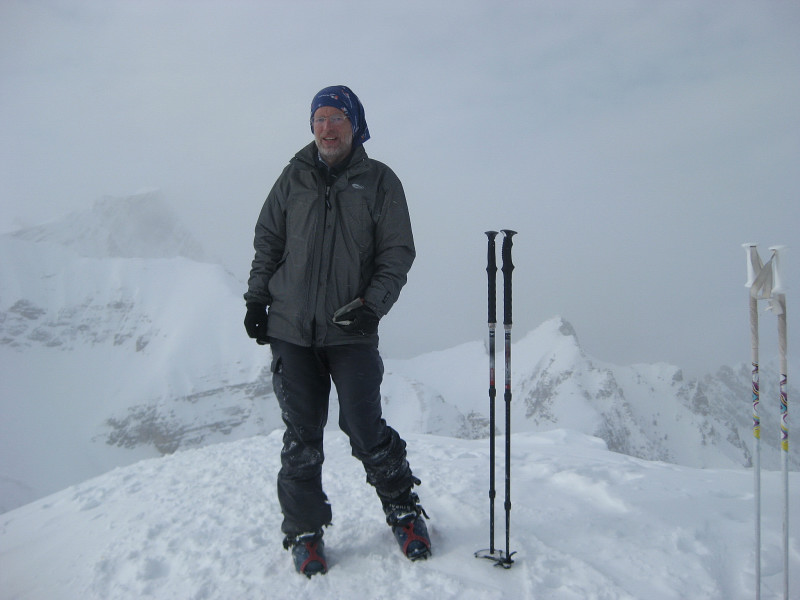 Foto: Wolfgang Lauschensky / Ski Tour / Äußere Eisengabelspitze = Dont de Furcia dai Fers de Fora 2534m / Eisengabelspitze / 11.12.2009 20:55:20