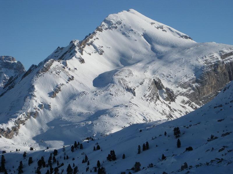 Foto: Wolfgang Lauschensky / Ski Tour / Pareispitze oder Col Bechei Dessora 2794m / Südwestflanke / 12.12.2009 12:06:48