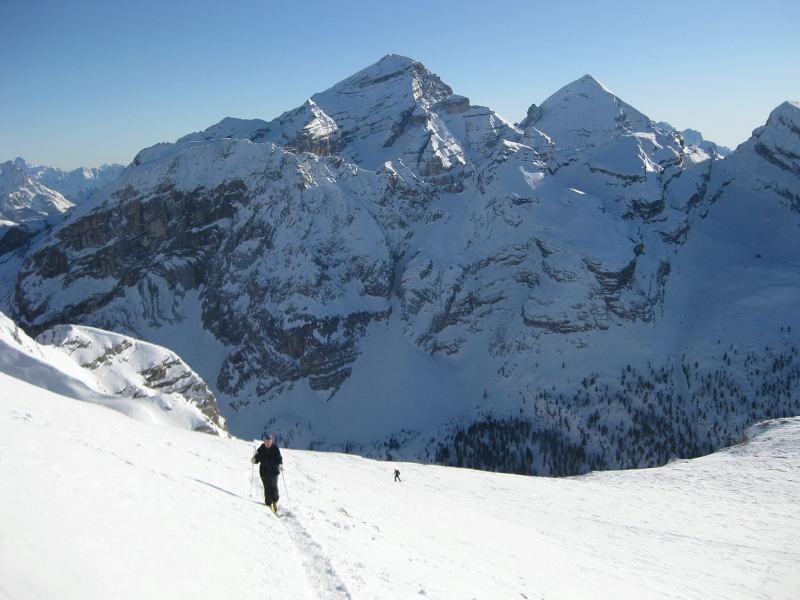 Foto: Wolfgang Lauschensky / Ski Tour / Pareispitze oder Col Bechei Dessora 2794m / Tofane / 12.12.2009 12:02:36