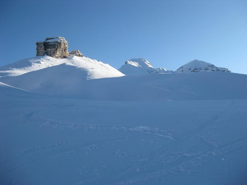 Foto: Wolfgang Lauschensky / Ski Tour / Monte Casale 2707m (oder Bivaccio di Monte Castello) / Monte Castello, Monte Casale und Monte Cavallo / 12.12.2009 14:52:09