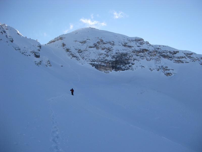 Foto: Wolfgang Lauschensky / Ski Tour / Monte Casale 2707m (oder Bivaccio di Monte Castello) / Monte Cavallo / 12.12.2009 14:51:45
