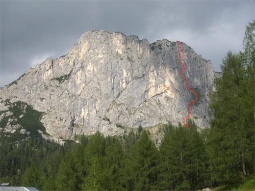 Foto: schrutkaBua / Kletter Tour / Stubwieswipfel SO-Wand / Übersicht / 12.12.2009 15:26:00