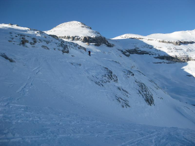 Foto: Wolfgang Lauschensky / Ski Tour / Heiligkreuzkofel 2907m (Piz dal Ciaval) / eine nur kurz anspruchsvolle Abfahrt / 12.12.2009 15:43:51