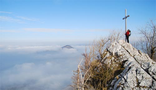 Foto: schrutkaBua / Kletter Tour / Kreuzmauer, SW-Grat / Gipfel / 12.12.2009 16:14:18