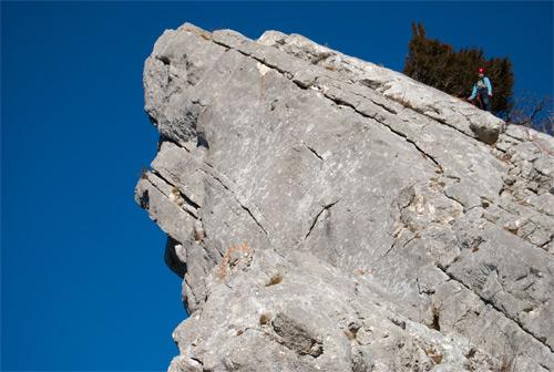 Foto: schrutkaBua / Kletter Tour / Kreuzmauer, SW-Grat / super Fels für den Schwierigkeitsgrad / 12.12.2009 16:15:09