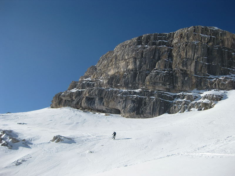 Foto: Wolfgang Lauschensky / Ski Tour / Lavarella 3055m (La Varella) / zum westlichsten Punkt / 12.12.2009 16:52:52