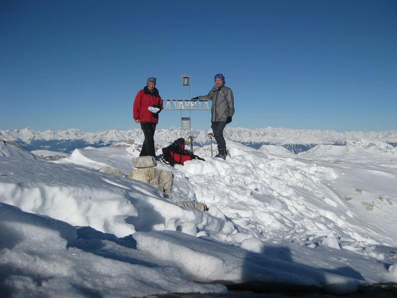 Foto: Wolfgang Lauschensky / Ski Tour / Lavarella 3055m (La Varella) / Lavarella / 12.12.2009 16:51:20