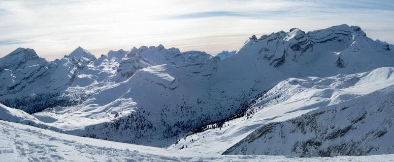 Foto: Wolfgang Lauschensky / Ski Tour / Lavarella 3055m (La Varella) / Lavarella von Norden (Zehner) / 12.12.2009 16:50:13