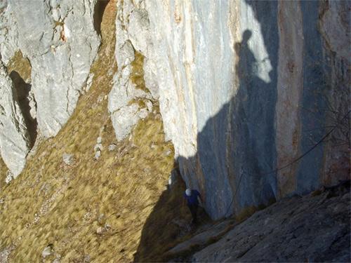 Foto: schrutkaBua / Kletter Tour / Rote Wand, Winterfit / Einstiegsrampe / 12.12.2009 17:07:14
