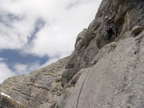 Foto: schrutkaBua / Kletter Tour / Kraxenberg, Invalidentrip / Seillänge 4 / 13.12.2009 12:05:12