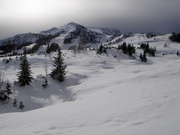 Foto: Manfred Karl / Ski Tour / Von der Winklmoosalm zur Steinplatte / Steinplatte / 13.12.2009 17:39:07