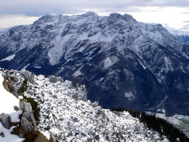 Foto: Manfred Karl / Ski Tour / Von der Winklmoosalm zur Steinplatte / Loferer Steinberge / 13.12.2009 17:38:24