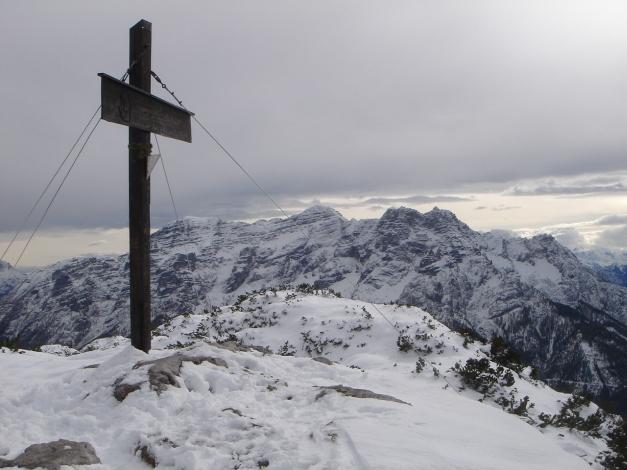 Foto: Manfred Karl / Ski Tour / Von der Winklmoosalm zur Steinplatte / Loferer Steinberge / 13.12.2009 17:37:39