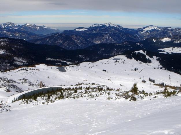 Foto: Manfred Karl / Ski Tour / Von der Winklmoosalm zur Steinplatte / Chiemgauer Berge: Kampenwand - Hochplatte - Rauschberg - Kienberg / 13.12.2009 17:36:54