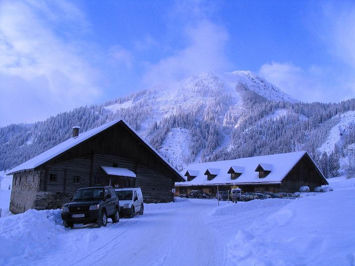 Foto: Andreas Koller / Ski Tour / Direkter Anstieg auf den Hengst (2076 m) / 15.12.2009 21:10:23