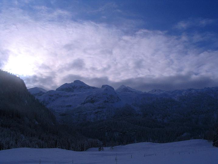 Foto: Andreas Koller / Ski Tour / Direkter Anstieg auf den Hengst (2076 m) / 15.12.2009 21:10:01