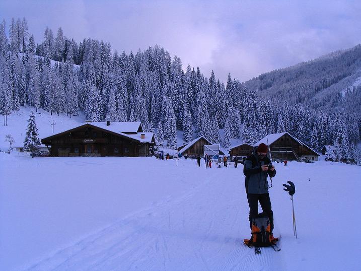 Foto: Andreas Koller / Ski Tour / Direkter Anstieg auf den Hengst (2076 m) / 15.12.2009 21:09:57
