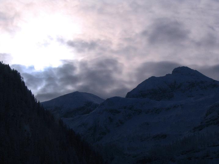 Foto: Andreas Koller / Ski Tour / Direkter Anstieg auf den Hengst (2076 m) / 15.12.2009 21:09:51
