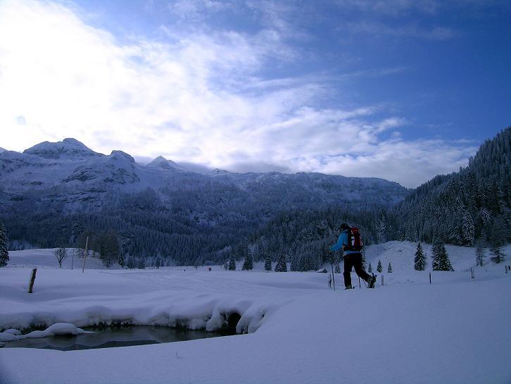 Foto: Andreas Koller / Ski Tour / Direkter Anstieg auf den Hengst (2076 m) / 15.12.2009 21:09:32