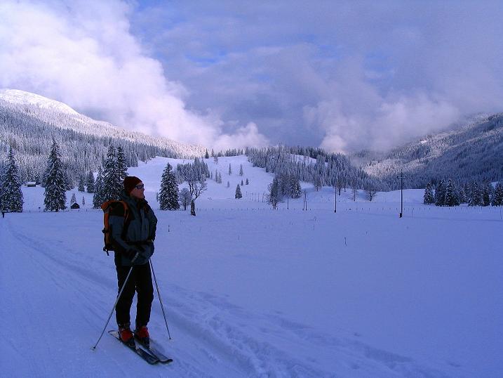 Foto: Andreas Koller / Ski Tour / Direkter Anstieg auf den Hengst (2076 m) / 15.12.2009 21:09:24
