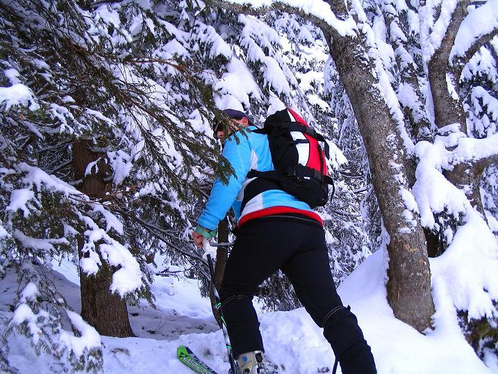 Foto: Andreas Koller / Ski Tour / Direkter Anstieg auf den Hengst (2076 m) / 15.12.2009 21:08:43