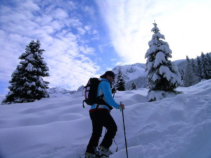 Foto: Andreas Koller / Ski Tour / Direkter Anstieg auf den Hengst (2076 m) / 15.12.2009 21:08:11