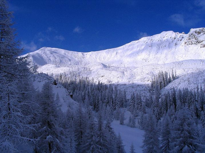 Foto: Andreas Koller / Ski Tour / Direkter Anstieg auf den Hengst (2076 m) / 15.12.2009 21:07:39