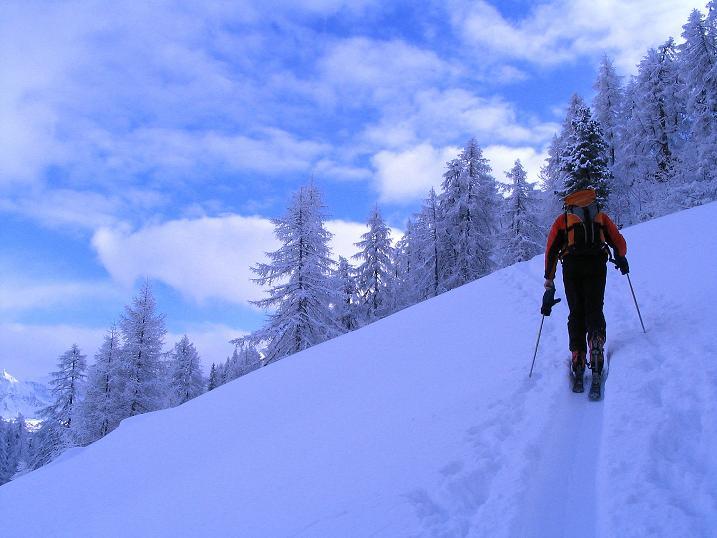 Foto: Andreas Koller / Ski Tour / Direkter Anstieg auf den Hengst (2076 m) / 15.12.2009 21:07:32