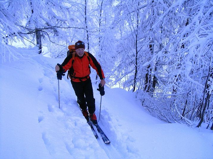 Foto: Andreas Koller / Ski Tour / Direkter Anstieg auf den Hengst (2076 m) / 15.12.2009 21:06:22